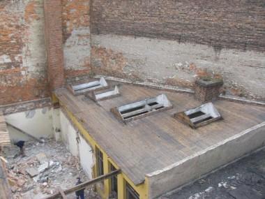 Abbruch Zwischenbau zw. Gebäude 3 und 4